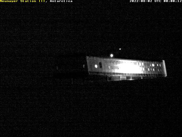 Antarctic Live Cam – Research Station Neumayer 3