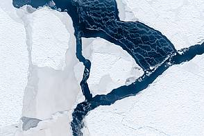 Researchers simulate the emergence of leads in sea ice