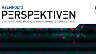 Cover Helmholtz Perspektiven May 2019