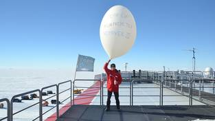Wetterballon: Year of Polar Prediction