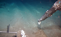 Push core sampling with a remotely operated vehicle (ROV) at experimental disturbance tracks created with a ship-towed plough in 1989