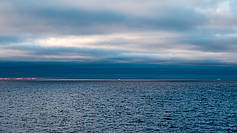 Clouds over Atka Bay