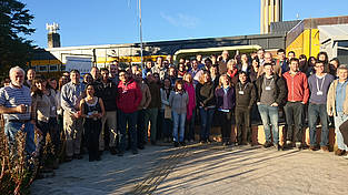 Participants of the 2. DynAMo workshop at CADIC in Ushuaia, Argentina