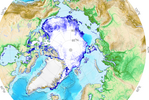 Sea Map Ice Extend Arctic
