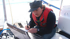 Analysing data on board