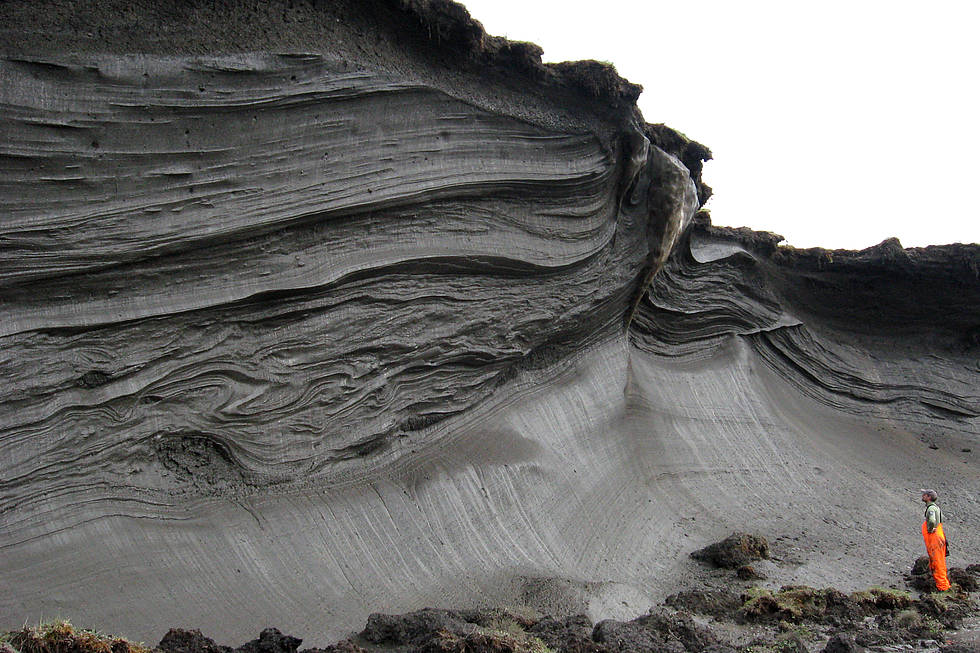 Permafrost structures in the Canadian Arctic