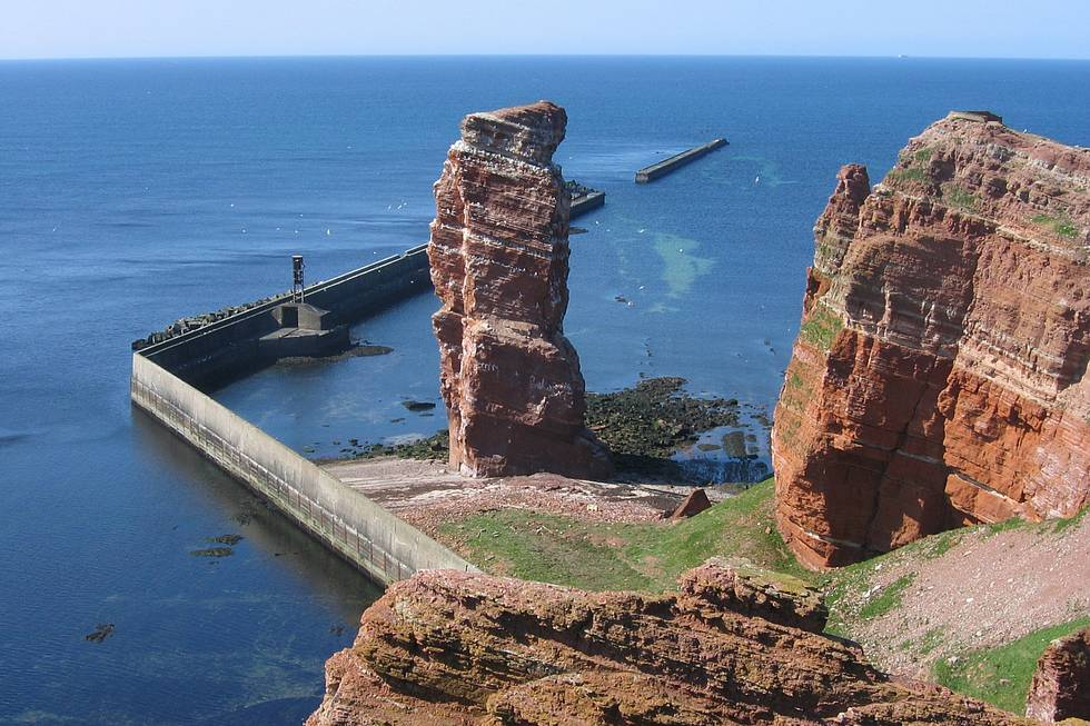 Long Anna, the rock needle of Helgoland