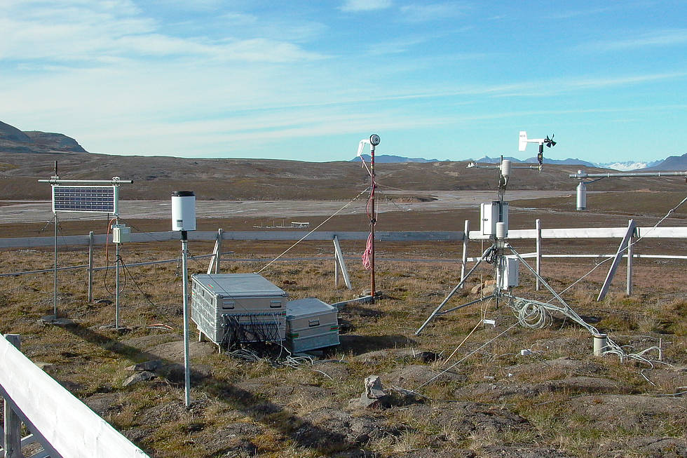 Bayelva soil and climate station, Spitsbergen
