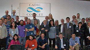 Participants of the 1. DynAMo Workshop at CADIC in Ushuaia, Argentina