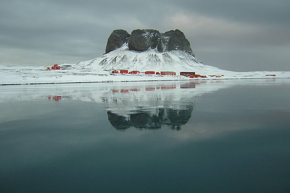Research base Carlini, Antarctic peninsula