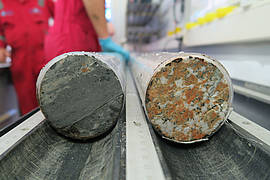 Rock cores of the Chicxulub Impact Crater