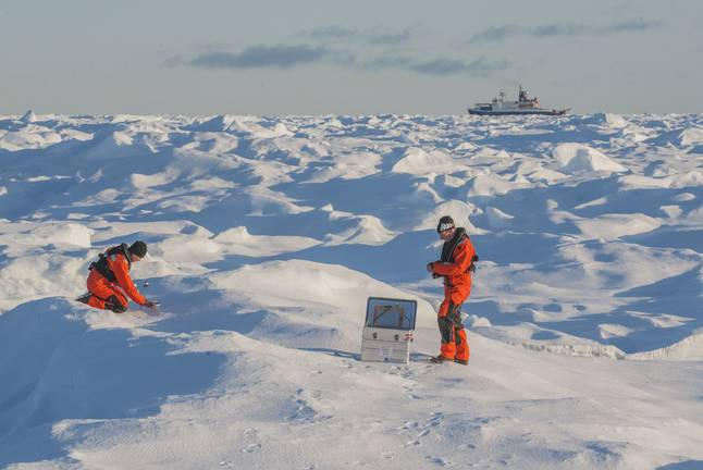 Measurements of the weather, sea ice and oceans can improve environmental forecasts in the Arctic and Antarctic