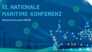 Flyer 12. Nationale Maritime Konferenz