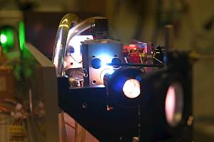 Inside view of the Laser