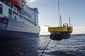 AWI's underwater robot Tramper successfully recovered