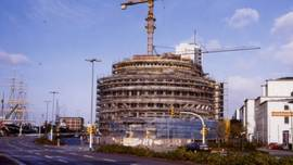 The new building of the Alfred Wegener Institute on Columbusstrasse in 1982