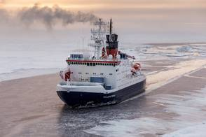 Polarstern departs for the Arctic