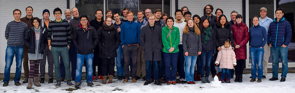 "The members of the ""Paleoclimate Dynamics"" section at the annual retreat in January 2017, J + V Seminar-Landhaus GmbH in Ganderkesee"