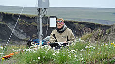 Installation of a weather station