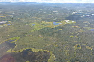 Lakes in arctic permafrost regions