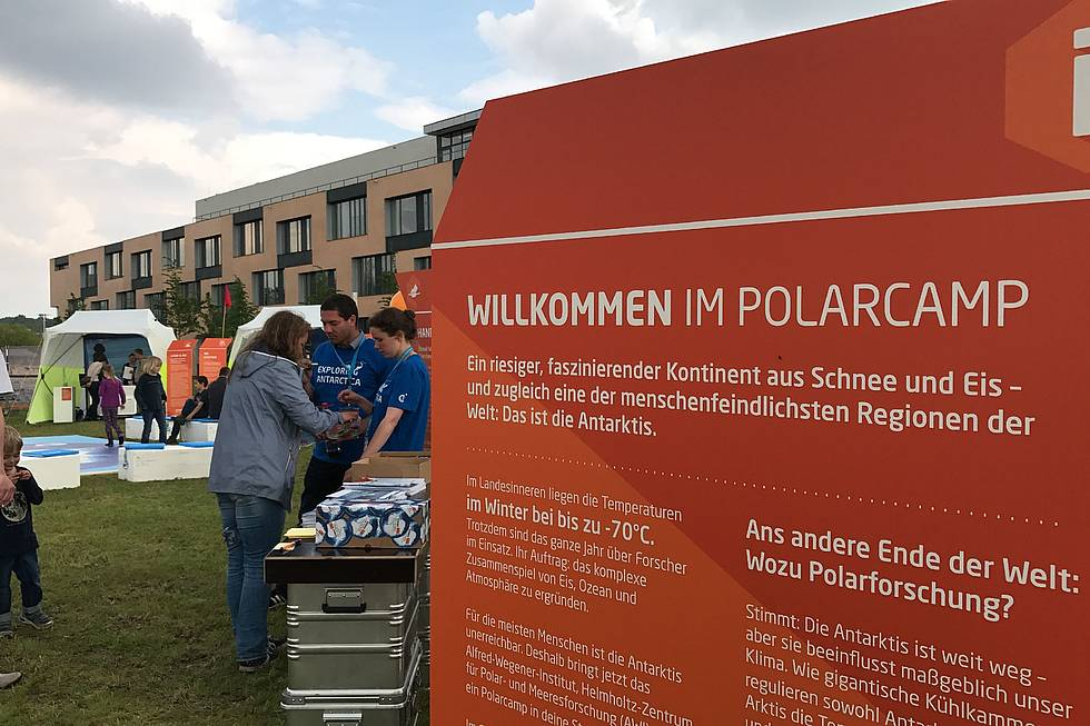 Science on the road in Potsdam