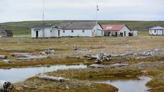 The old whaling station - the scientists' research station
