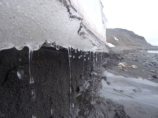 Melting ice in Potter Cove, Antarctica: The Potsdam Summer School will focus on long-term climate change impacts and the challenge of dealing with them.