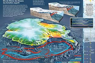 Infografik: Wie die Wärme des Ozeans das Schelfeis angreift