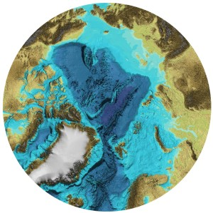 International Bathymetric Chart of the Arctic Ocean