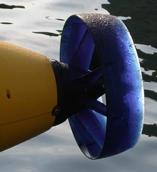 Tailcone of an AUV (Autonomous Underwater Vehicle)